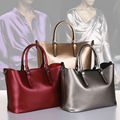 2016 new Retro Vintage Women's genuine Leather Handbag Tote Trendy ladys Shoulder Bags Messenger Bag