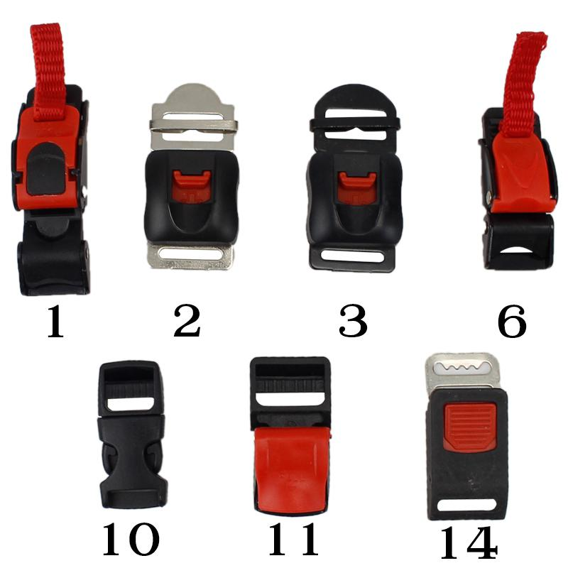 Motorcycle Helmet Buckles Chin Strap Speed Sewing Clip Bicycle Helmet Buckles Motor Bike Motocross Chin Strap Flexible Clip