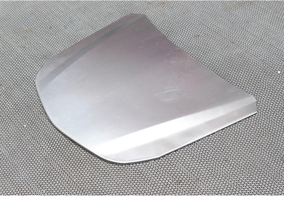 Image 3 - 55*41cm Metal Car Speed Shape Silver Car Bonnet Mini Hood For Vehicle Glass Coating Display MO 179E-in Car Stickers from Automobiles & Motorcycles