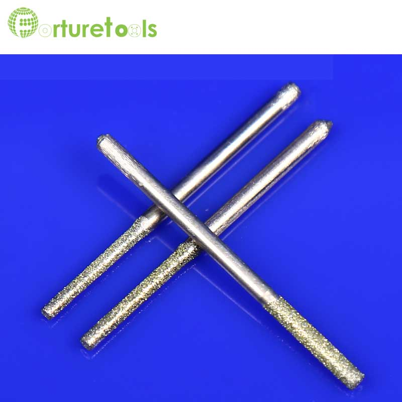 35 pcs mini-ensemble de forage électrolytique diamant foret ensemble - Outils abrasifs - Photo 5