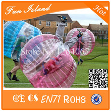 Cheap Price !! Inflatable bubble soccer ball game toys,0.8mm PVC inflatable zorb ball soccer