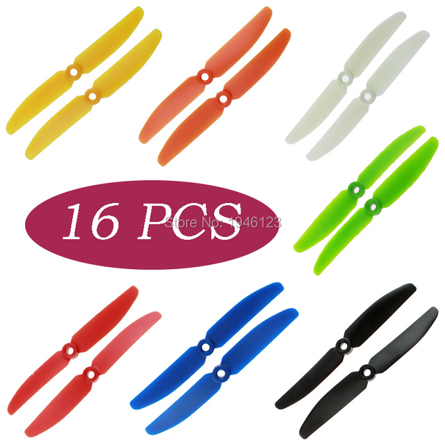 16pcs 8 Pairs 5×3 5030 Nylon Prop Propeller CW/CCW for 250 mini Quadcopter QAV250 FPV Props