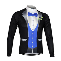 Hot Sale Long Sleeves Jersey Mountaion Clothing MTB Jersey 3 Colors Men Anti Sweat Cycling Bike