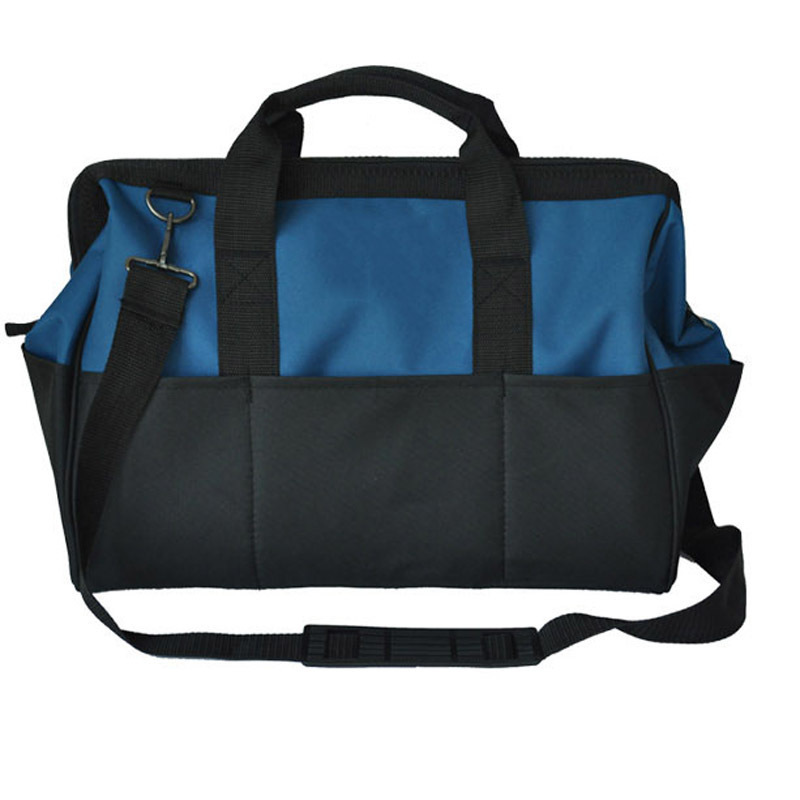 """PEGASI 12"""" Toolkit Multifunction Maintenance and Electrician Single Shoulder Large Capacity Thicken Oxford Cloth Tool Bag"""