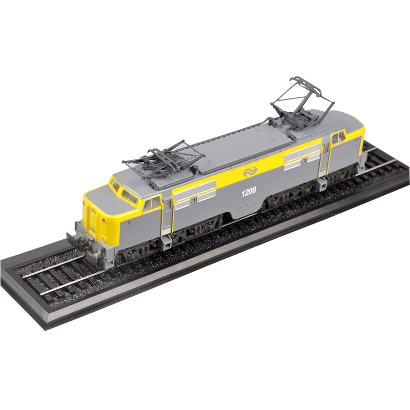ATLAS SERIE 1208 1952 Locomotive Tram MODEL TOYS 1:87 Scale Static Plastic model train Collection Cheapest for Christmas