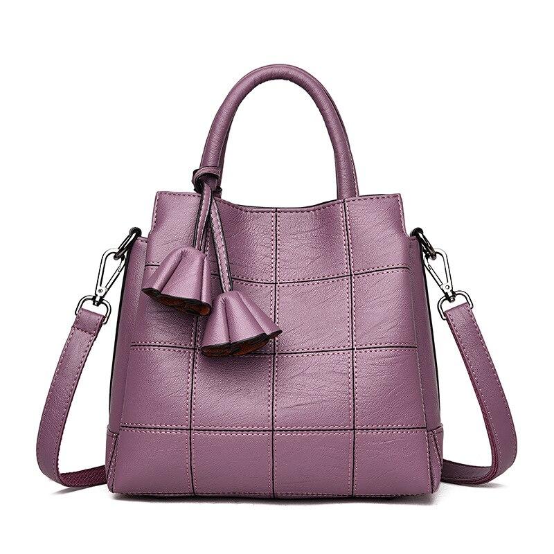 Bolsos De Mujer Europa y Estados Unidos moda 2018 nuevo hombro diagonal paquete bolsas de tres capas de gran capacidad
