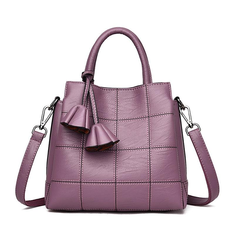 Senhoras bolsas Da Europa e nos Estados Unidos moda 2018 nova bolsa de ombro diagonal pacote três-camada grande-capacidade sacos