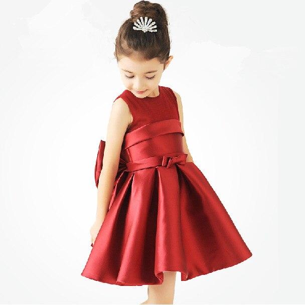 Girl Dress 2019 For 6 Years Old Silk Green Dresses For Girls