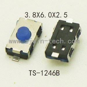 20PCS Tact Switch Rubber Micro Button Switch Car Key Buttons 4X6X2.5mm(3X6MM) Momentary Tact Push Button Switch (Special)