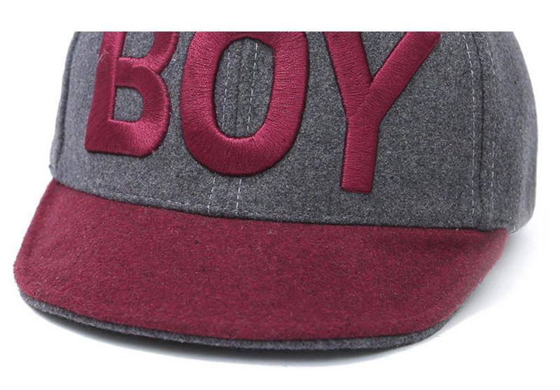 Apparel Accessories Hats Caps Embroidery Letter Boy Girl Baseball
