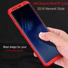 360 Degree Phone Case with Tempered Glass for Samsung Galaxy J2 J3 J5 J7 Prime 2016 2017 EU Hard PC Celular Case for A3 A5 A7(China)