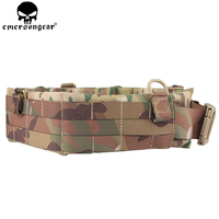 EMERSONGEAR Molle Padded Patrol Belt Tactical Hunting Men Airsoft Belt Combat Military Army Patrol Belt Multicam EM9155