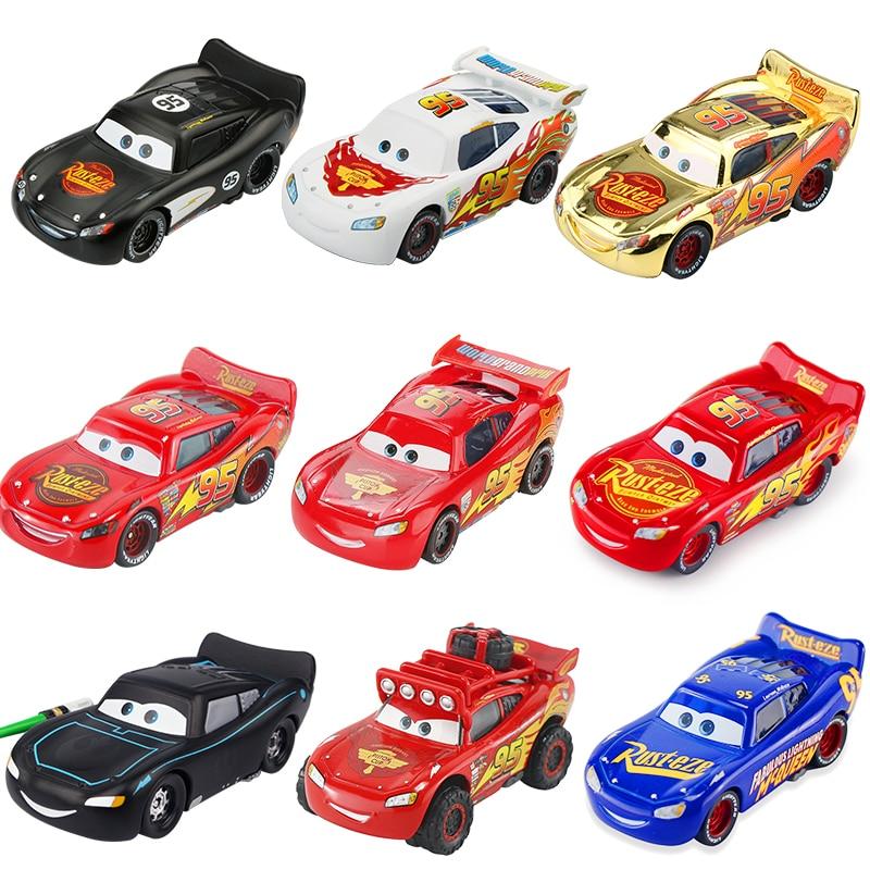 Disney Pixar Cars 3 2 Fabulous Silver Lightning McQueen Suv 1:55 Diecast Metal Alloy Car Model Birthday Gift Toys For Kid Boy