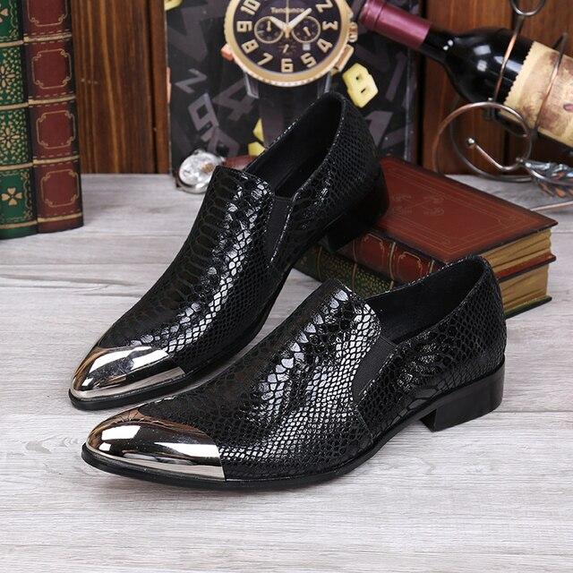 Italiaanse Kinderschoenen.Heren Lederen Oxford Designer Schoenen Italiaanse Dress Schoenen Wx4yyf