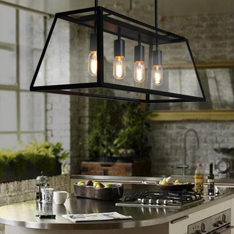 IKEA Restaurant Nordic Light Project Edison Bedroom Farmhouse With A Glass Box Four Den Dining Room Chandelier Lamp In Pendant Lights From Lighting