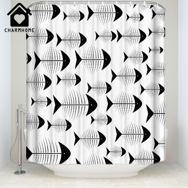CHARMHOME Tessuto Bianco Tenda Della Doccia Decorazioni Per La Casa Accessori Pe