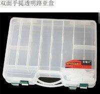 29cm 19cm 6cm Wholesale Waterproof Box Fishing Tackle Box Fly Fishing Box Fishing Bait Case Spinner