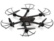 MJX X600 RC Quadcopter 6-axis Helicopter Headless Drone 2.4G Can Add C4008 C4010 WIFI FPV 720P HD Camera-Black