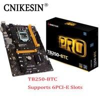 CNKESIN TB250 BTC PRO In Box 12PCIE For Biostar TB250 BTC TB250 1151 DDR4 Mining Board