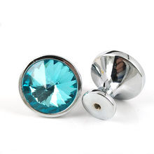 30mm Crystal Glass Door Knob Cabinet Cupboard Pull Drawer Handle Kitchen Wardrobe Home Hardware Come with Screws