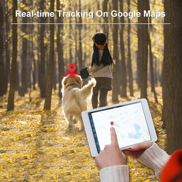 Dog GPS Tracker TK909 Waterproof IP65 Geofence Google Track GPS For Cat Collar Voice Monitor Mini GPS Locator For Dog FREE APP 3