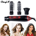 3-in-1 Styling Accessory Tools Hairdryer Hair Curler Hair Dryer Blow Dryer Comb Brush Hairbrush Professinal Salon 1200W P0