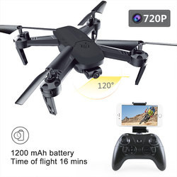 New Intelligent Drone WiFi FPV Real-Time 480P/720P HD Camera 120 Degree Wide Angle Headless Mode One Key Take Off Quadcopter