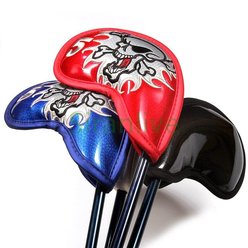 Image 4 - 9 шт. железная крышка для головы клуба Крышка для головы из искусственной кожи крышка для головы для гольфа-in Головка клюшки from Спорт и развлечения on AliExpress - 11.11_Double 11_Singles' Day