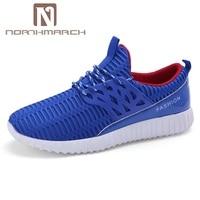 NORTHMARCH Hohe Qualität Männer Freizeitschuhe Modemarke Weiche Atmungsaktive Lace-Up Männliche Schuhe Zapatillas Hombre Deportivas Casual