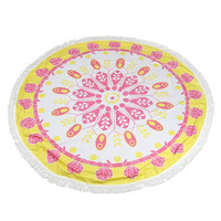 Factory Price Summer Round Hippie Tapestry Beach Throw Roundie Mandala Towel Yoga Bohemian Polyester Mat Aug22 Extraordinary