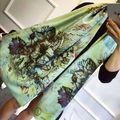 Bufanda de marca de lujo Italia mariposa de las mujeres de Cachemira Bufandas Desinger Piel De lana Manta Poncho Chal Pashmina Invierno Echarpe Bandana