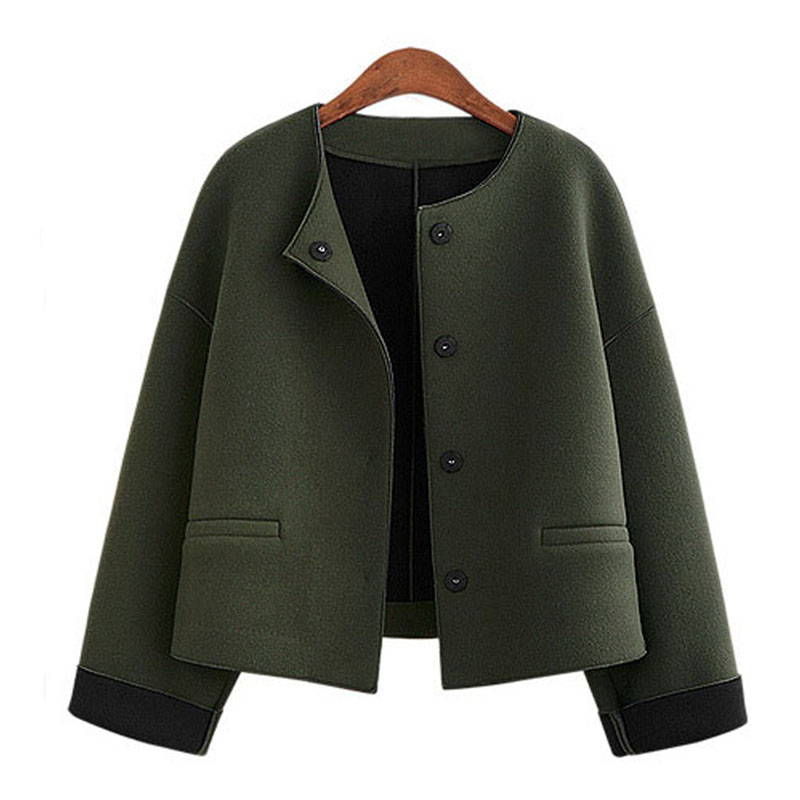 Short wool coats for women online shopping-the world largest short