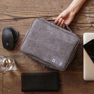 Image 4 - Nouveau sac de rangement numérique multifonction pour voyage paquet de finition de stockage électronique numérique étanche et anti poussière