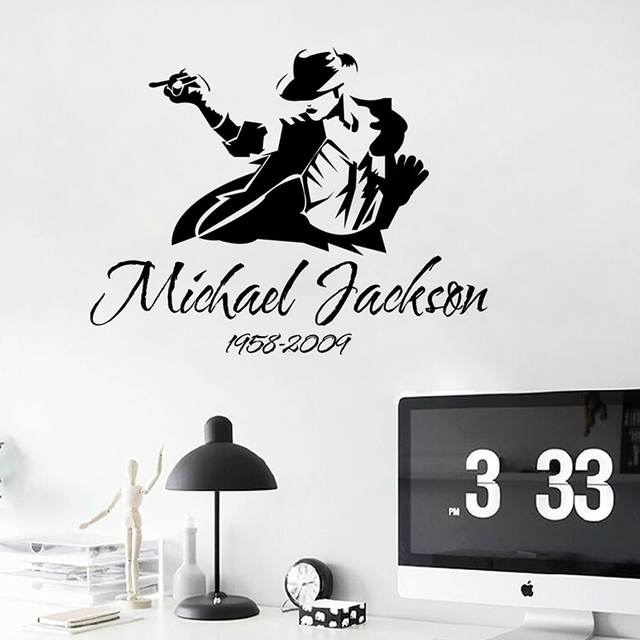 Michael Jackson Dance Quote Wall Stickers Home Decor Living Room Poster  Vinyl Art Decals Remove Sticker Part 61