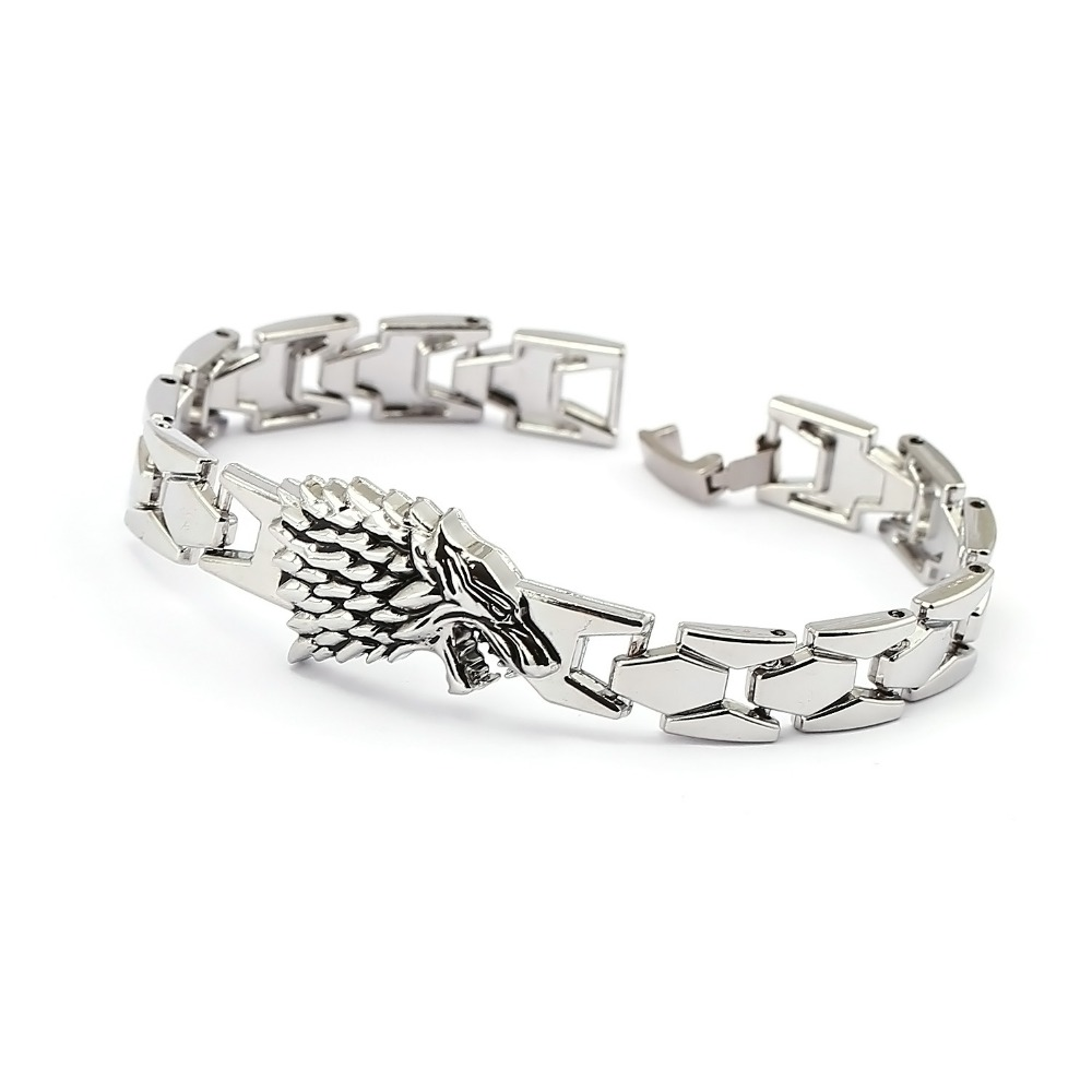 Game of Thrones Bracelet Song of ice fire Stark Chain Link Cs