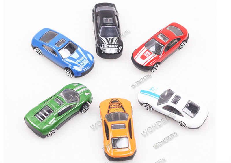 Baru Diecast Logam Mobil Model Paduan Mobil Model Skala 1/72 Diecast Mobil Miniatur Paduan Pendidikan Mainan Hadiah Natal