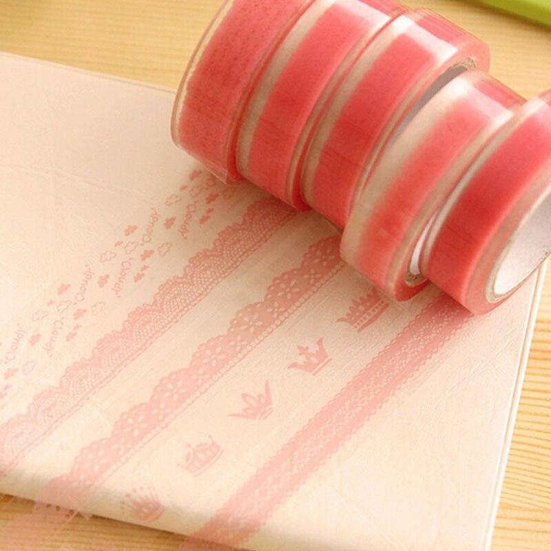 G38 5X Pink Lace DIY Craft...