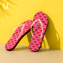 Xiaomi Jordan&Judy Fashion Flip Flops Non-slip Outdoor Sandals Casual Beach Shoes Couple Models Breathable and Quick-drying
