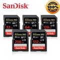 SanDisk SD Card 95MBS for Camera 64GB 128GB 32GB 256GB 512GB Memory Card U3 4K U1 Flash Card for Camera Flash Card PC SDXC SDHC