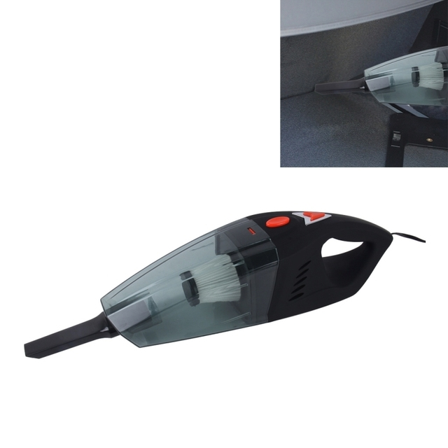 Car Vacuum Cleaner DC 12V Wet&Dry Auto Vacuum Cleaner Portable Handheld Cleaner Dust Buster Hand Vacuum with 4m Power Cord