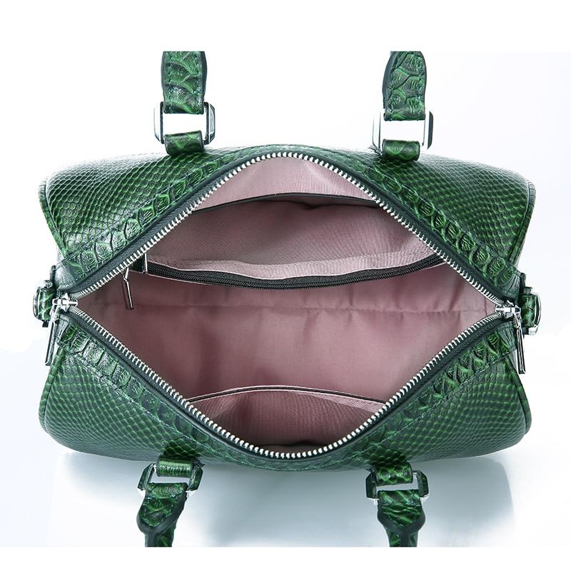 LUODUN 2018 Läder handväskor sommar liten väska multifunktionell - Handväskor - Foto 5