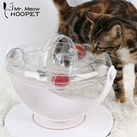 Heopet Cat Toy Electric Rotating Toys Plastic Funny Pet Interactive Training For Cats