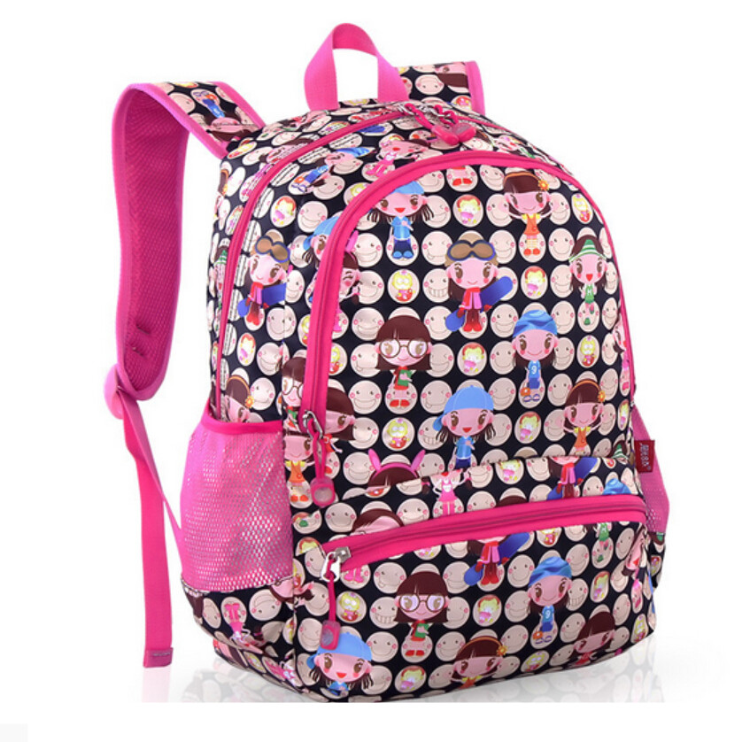 2017 new small backpack school bags for girls kids character ...