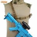 Tático militar Único Ponto 2 Ponto Do Ombro Estilingue Arma de Caça Rifle Carry Belt Airsoftsports Paintball Acessórios