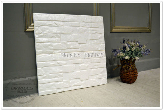 Decorative Plastic Wall Panels aliexpress : buy 10pcs 60*60cm new pe foam 3d flexiable brick
