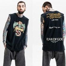 Summer Fashion Men Vest Men Tank Top Metallica Tee Print Solid Casual Top Tees Cotton Novelty rock band t shirt Tee 3D Print