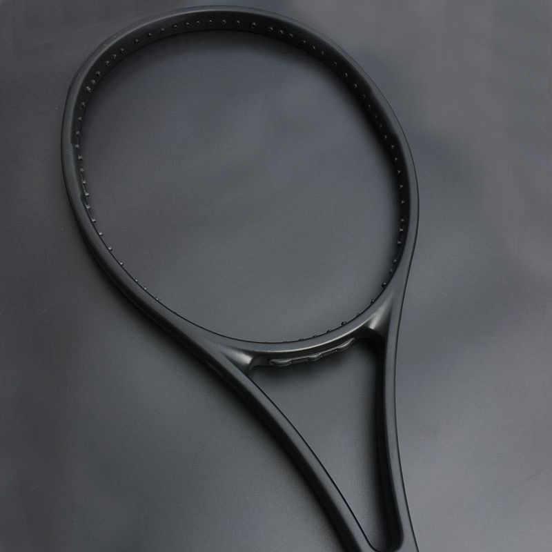 100% carbon Custom PS97 taiwan Tennis racket 97sq.in 315g Black graphite tennis racquet foamed handle with bag L2,L3,L4