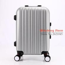 28 INCH 202428# Explosion models hot fashion exquisite students pull rod travel box universal wheel wear-resistant checked lugg