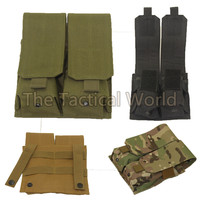 Hunting Tactical Molle Military Army Tool Dump Drop Bag Magazine Clip Dual Mag Pouch 5.56mm .223 Mag Pouches Airsoft Shooting|pouch airsoft|magazine pouch tactical|airsoft pouch -