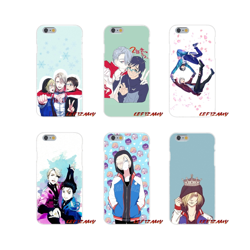 Accessories Phone Cases Covers yuri on ice yuri For Xiaomi Redmi 3 3S 4A 5A Pro Mi4 Mi4C Mi5S Mi6X Mi Max2 Note 3 4 5A